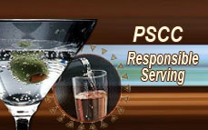 Bartending License, alcohol awareness training program certificate / On-Premises Responsible Serving<sup>®</sup>